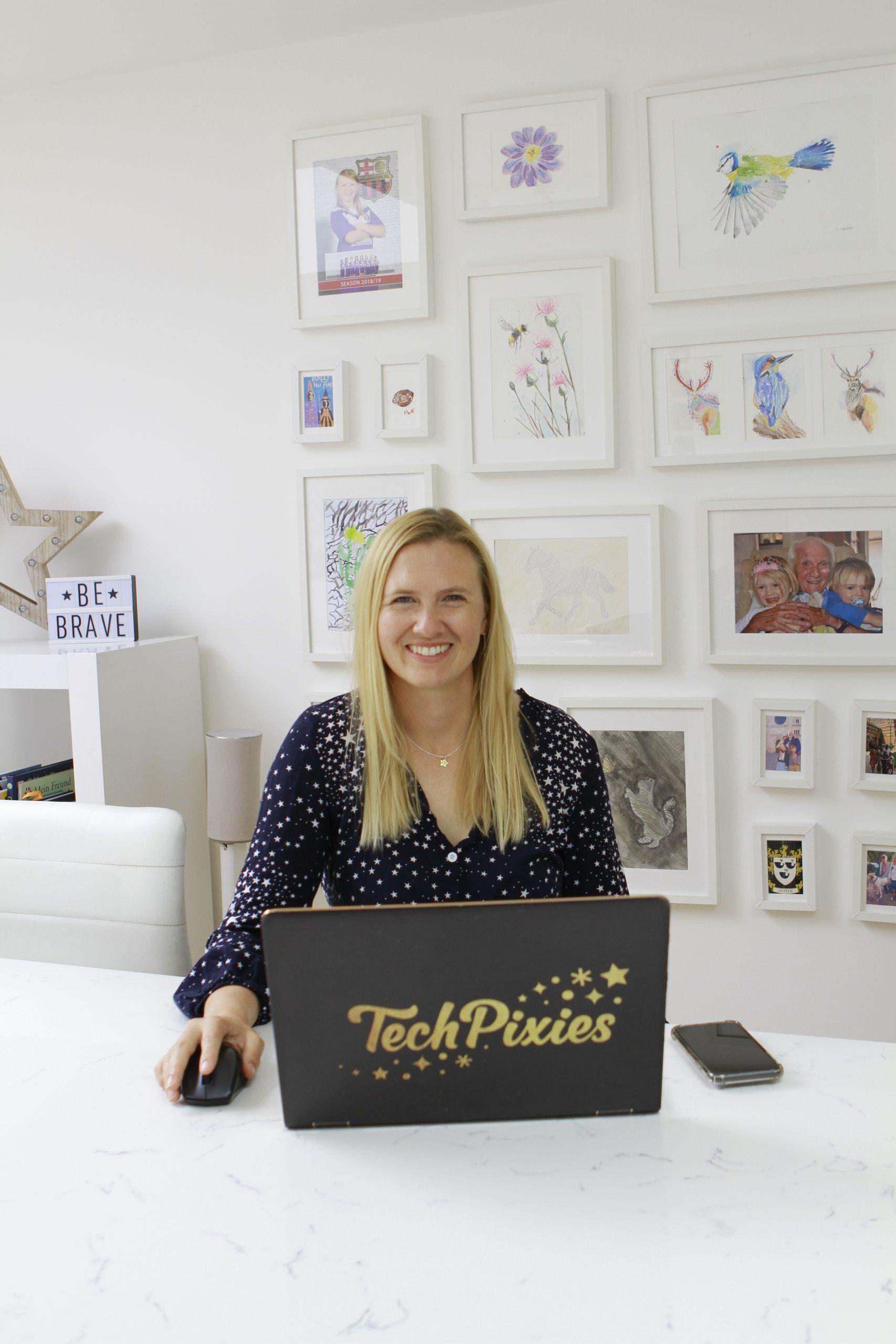 branding small business female tech - corporate headshot photography