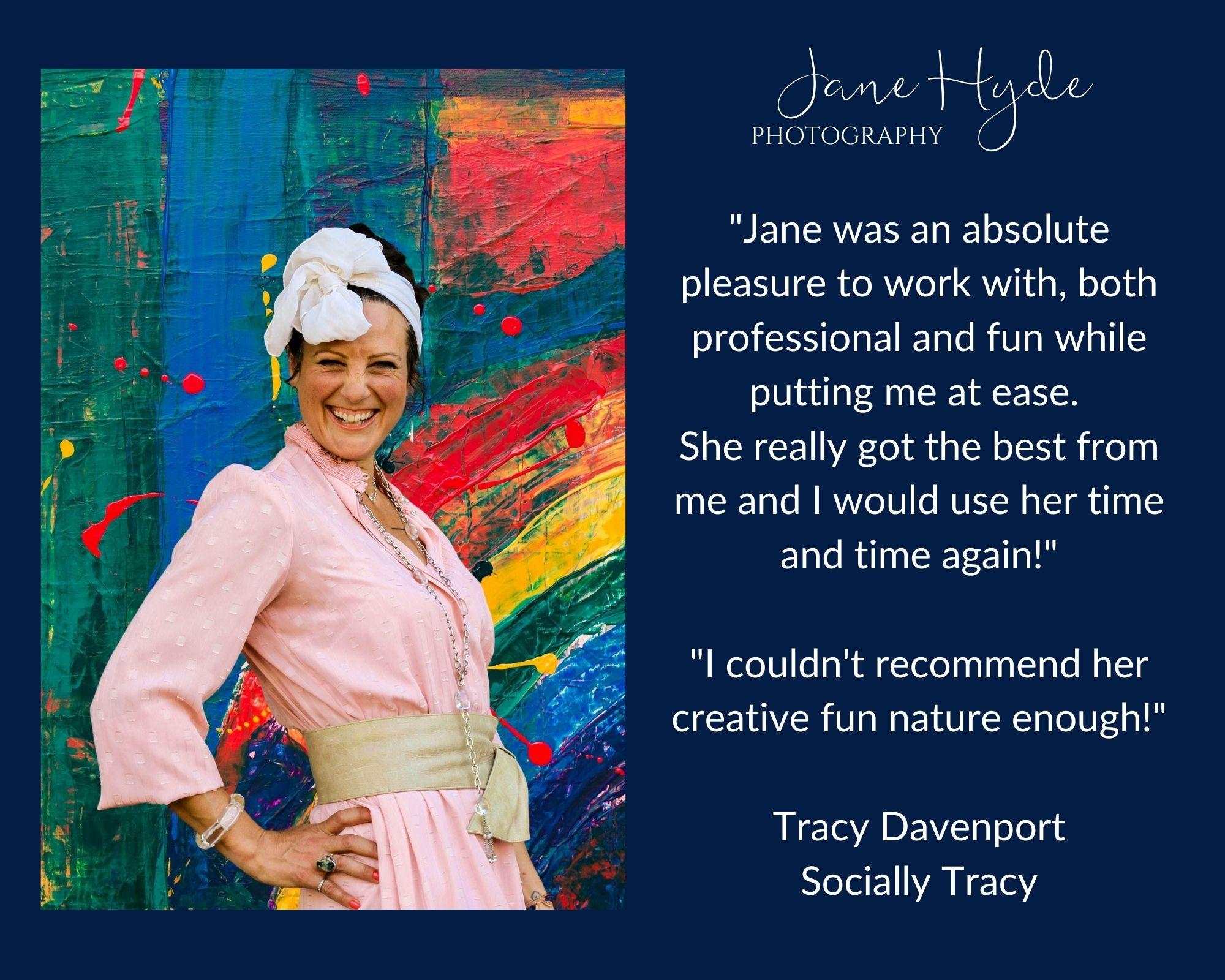 Creative fun personal branding photo shoot Hertfordshire